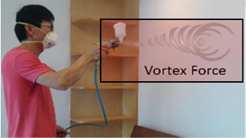 Installation of vortex nano air gun