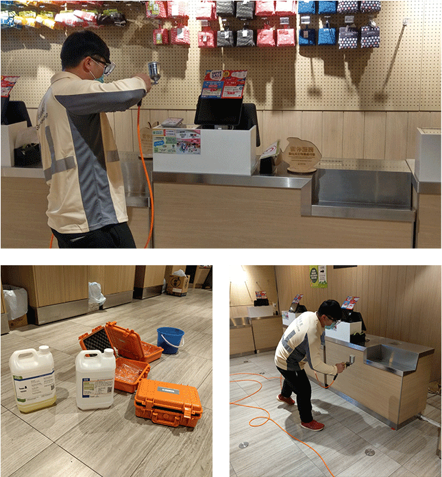 SolarIAQ - Supermarket Disinfection