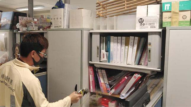 SolarIAQ - Disinfect Office